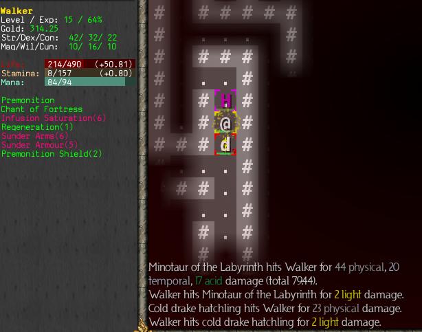 ToME 4 walkthrough - The Maze